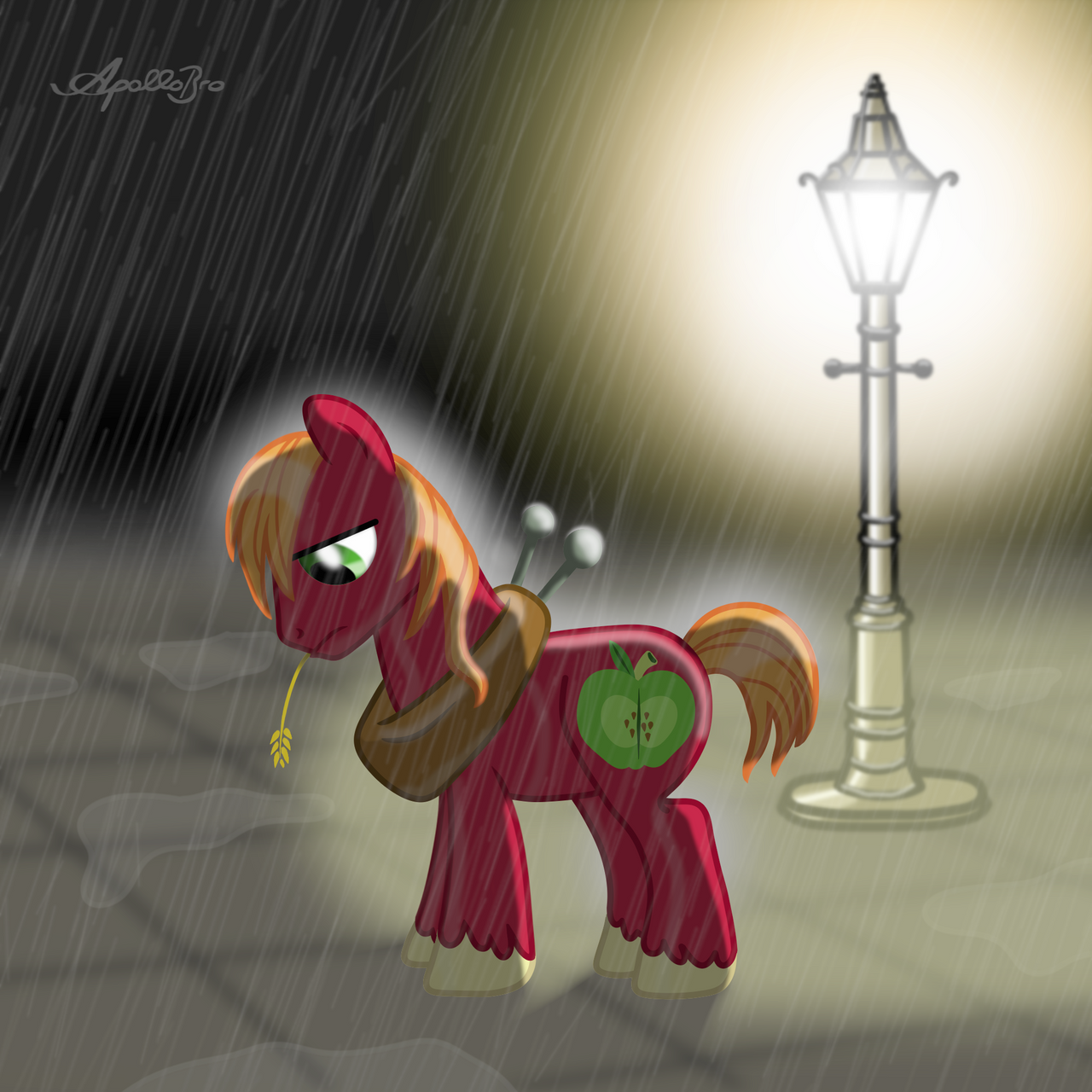 Big Macintosh -Sorrow- by ApolloBroDA