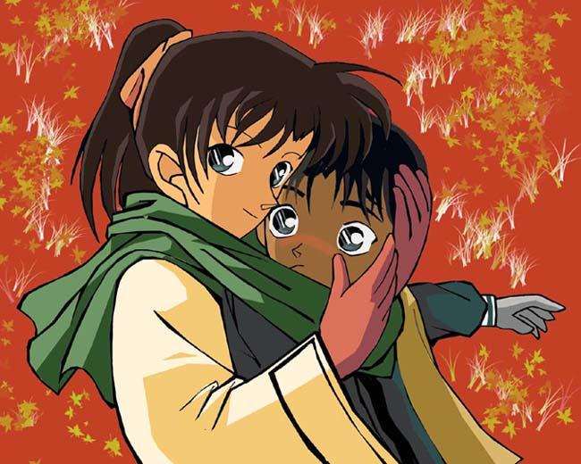 Heiji and Kazuha by IshimaruK21