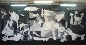 Escenografia Guernica by Evychan