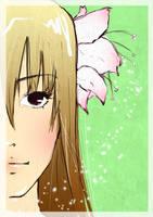 FlowerGirl by Evychan