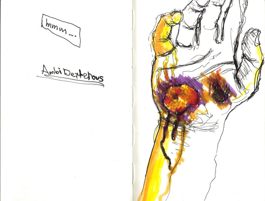 Ambidextrous Nick by Nick356