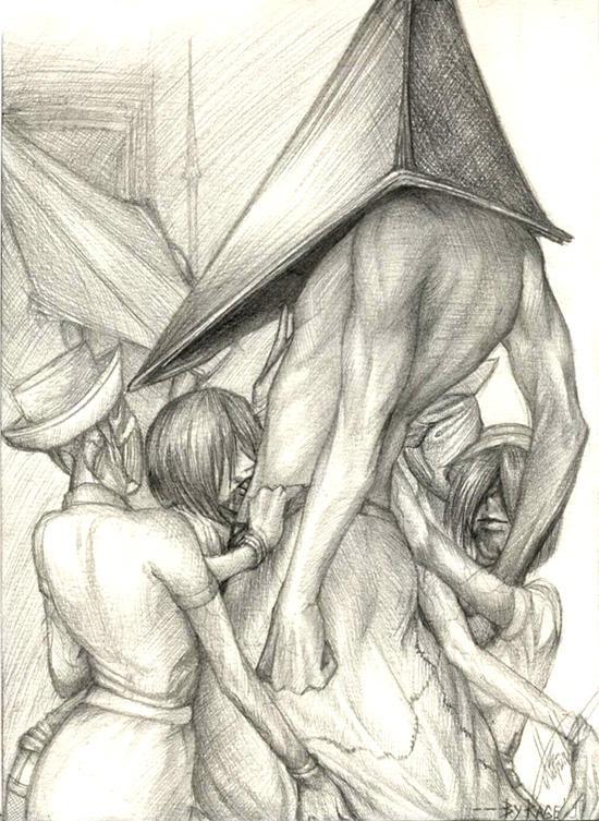 Секс с пирамидоголовым