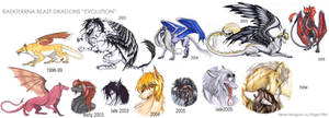 Beast-Dragons 'evolution' by rage1986