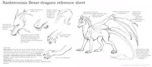 Beast-dragons reference by rage1986