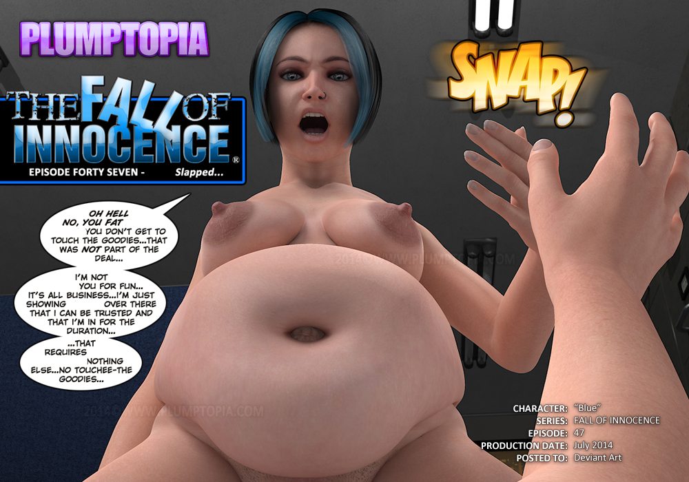 Blue the big belly bbw in action... by plumptopia