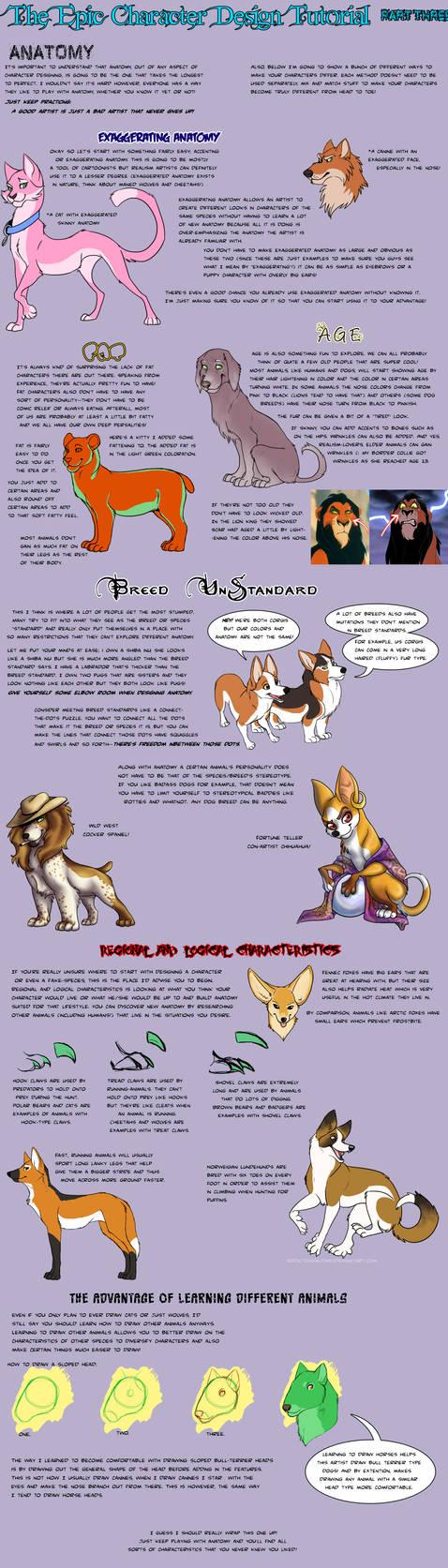 Character Design Tut: Anatomy by AddictionHalfWay