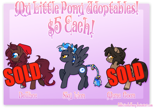 My Little Pony ADOPTS PART 9! (FOR SALE!)