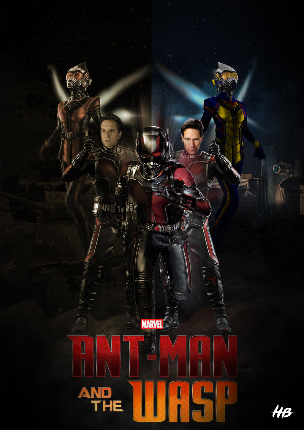 Ant Man And The Wasp By Hemison On DeviantArt