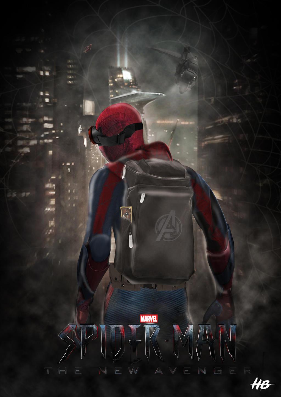 Spider Man The New Avenger By Hemison