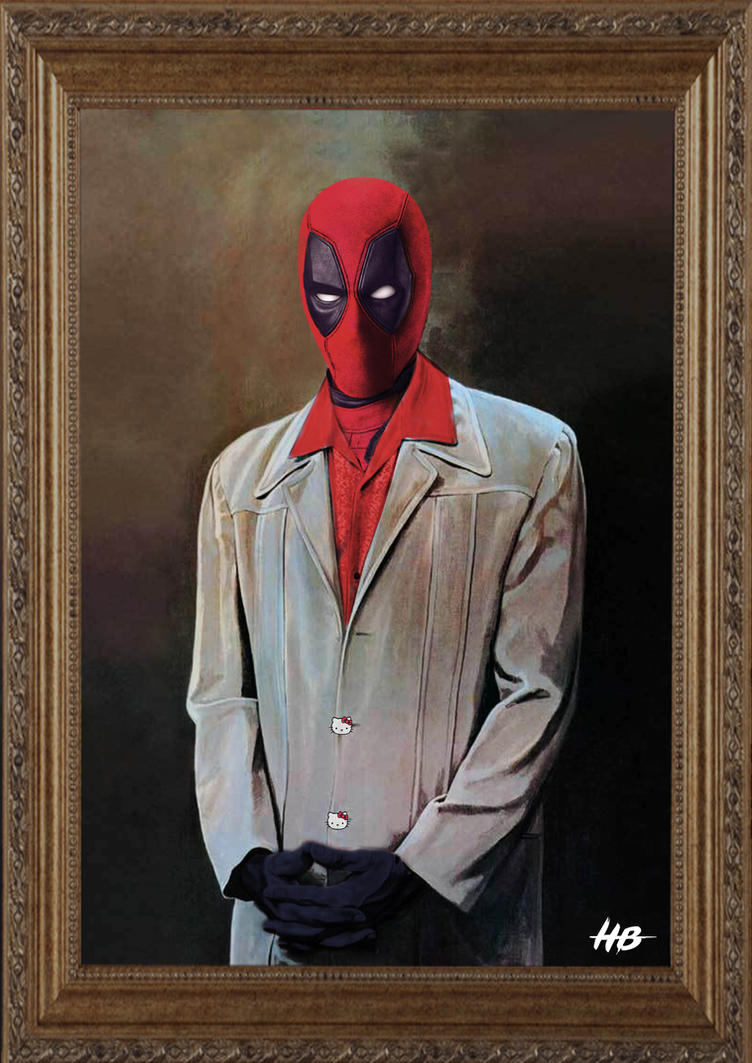 Deadpool parody : Seinfeld Kramer Painting by hemison on ...