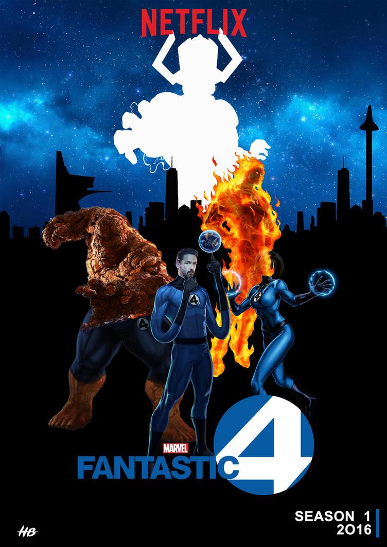 Marvel's Fantastic Four Netflix by hemison on DeviantArt