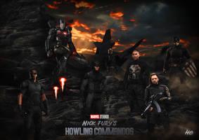 MCU - The Howling Commandos (Fan Art) by hemison