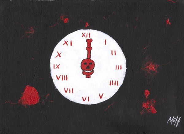Ebony clock