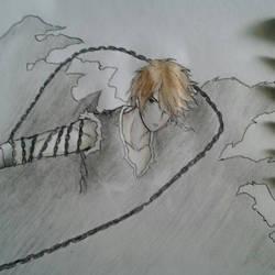 ichigo ( traditional art ) by octoberfest2013