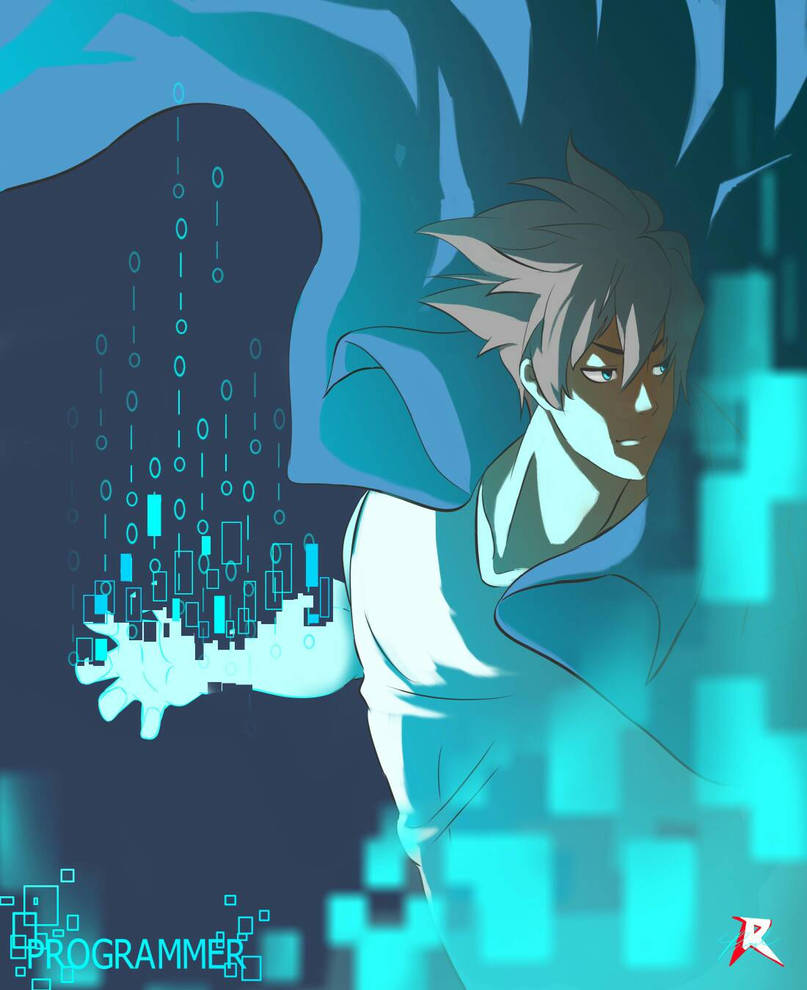 Programmer ( Digital art ) by octoberfest2013