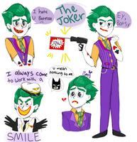 Lego Joker by SketchBird5
