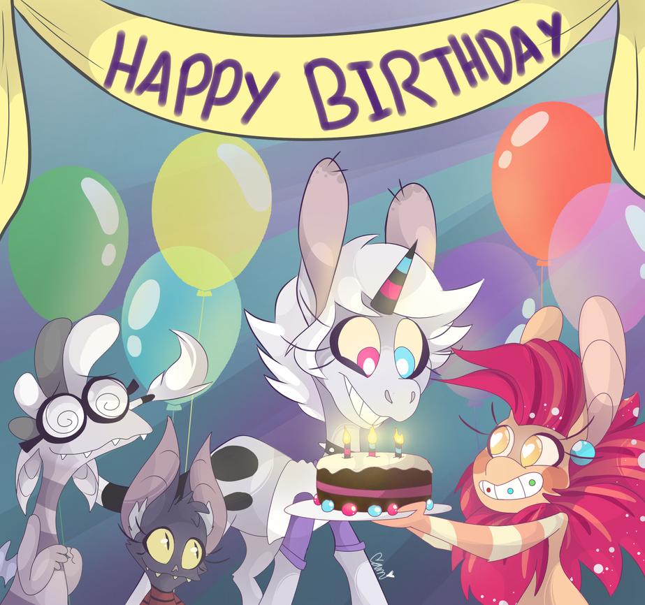 Happy Day of Birth by SketchBird5