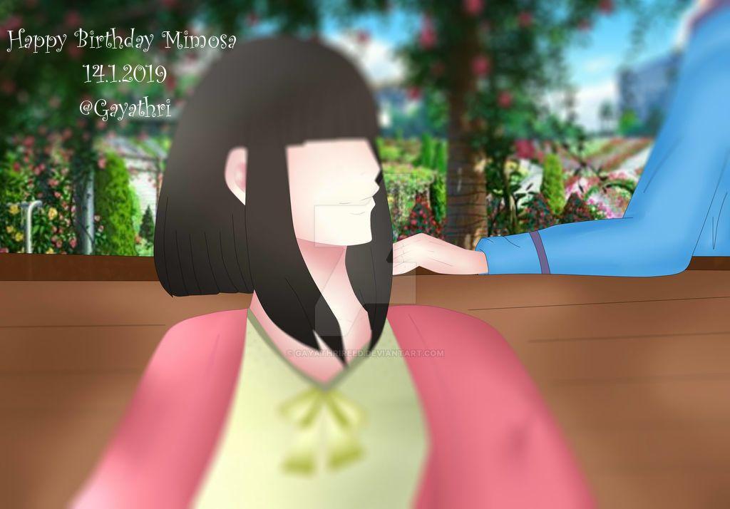 Happy Birthday Mimosa by GayathriReed