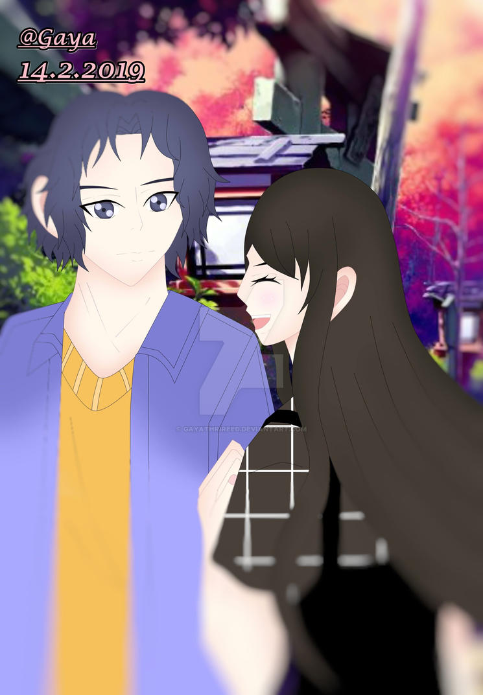 Tilt Shift Valentine Version Yukimura Seiichi x OC by GayathriReed