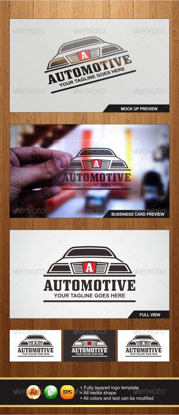 Automotive Logo Template - Graphicriver by Changyik