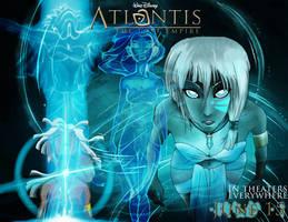 .Atlantis. Kida Poster by WhiskeyxGirl90