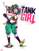 Tank Girl by Cabycab