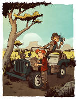 Spirou et Fantasio by Cabycab