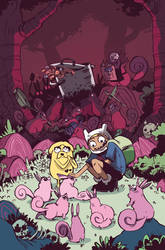 Adventure Time issue 17
