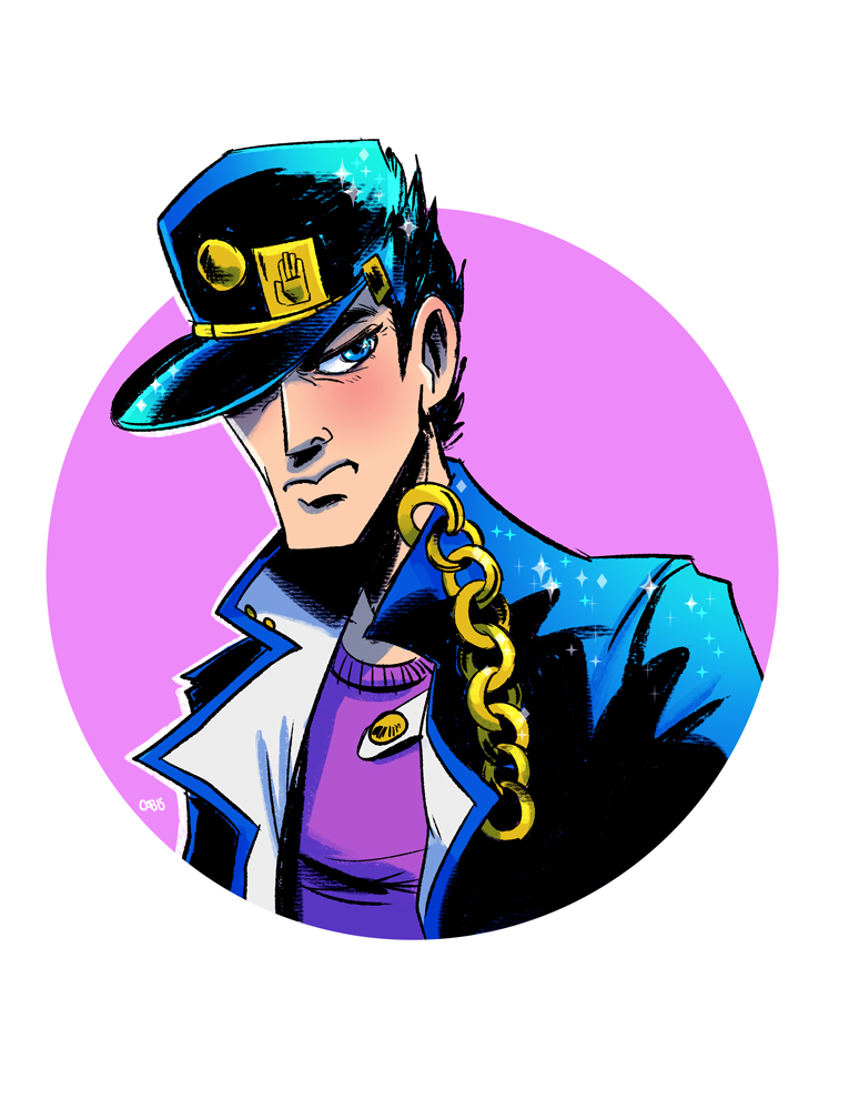 Jotaro Kujo commission by Cabycab