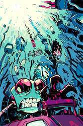 Invader Zim 45 Alternate Cover