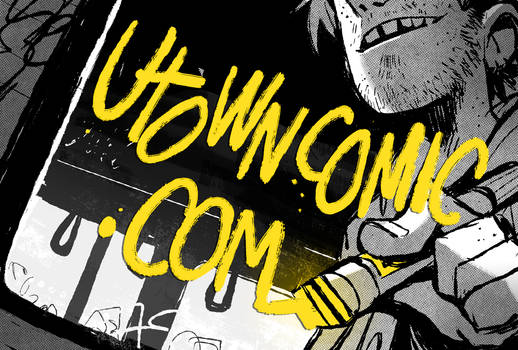 Utown webcomic launch!