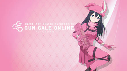 LLENN / Karen - Gun Gale Online Wallpaper version by mercuryNeko