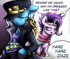 Trixie's Bizarre Adventure by Jadekettu