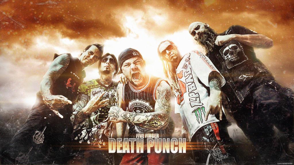 FIVE FINGER DEATH PUNCH 2013 By Bob Eisenkolb