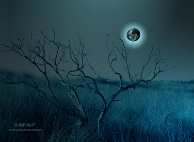 me lighted by Dark Moon by soumya-dip