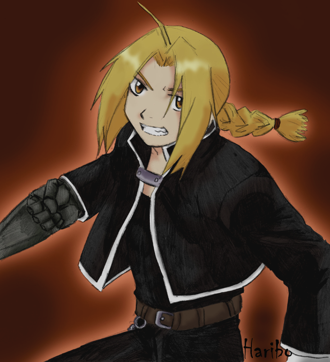 Edward Elric Color 1 by harib0o
