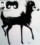 Deer witch by Kuroyo19