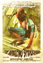 Vintage Amazing Spiderman Movie Poster part 2