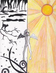 Half and Half by Amara-Rose