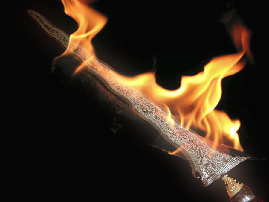 Keris Fire Sword by budireve on DeviantArt