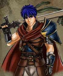 Radiant Hero Ike by Jheralde
