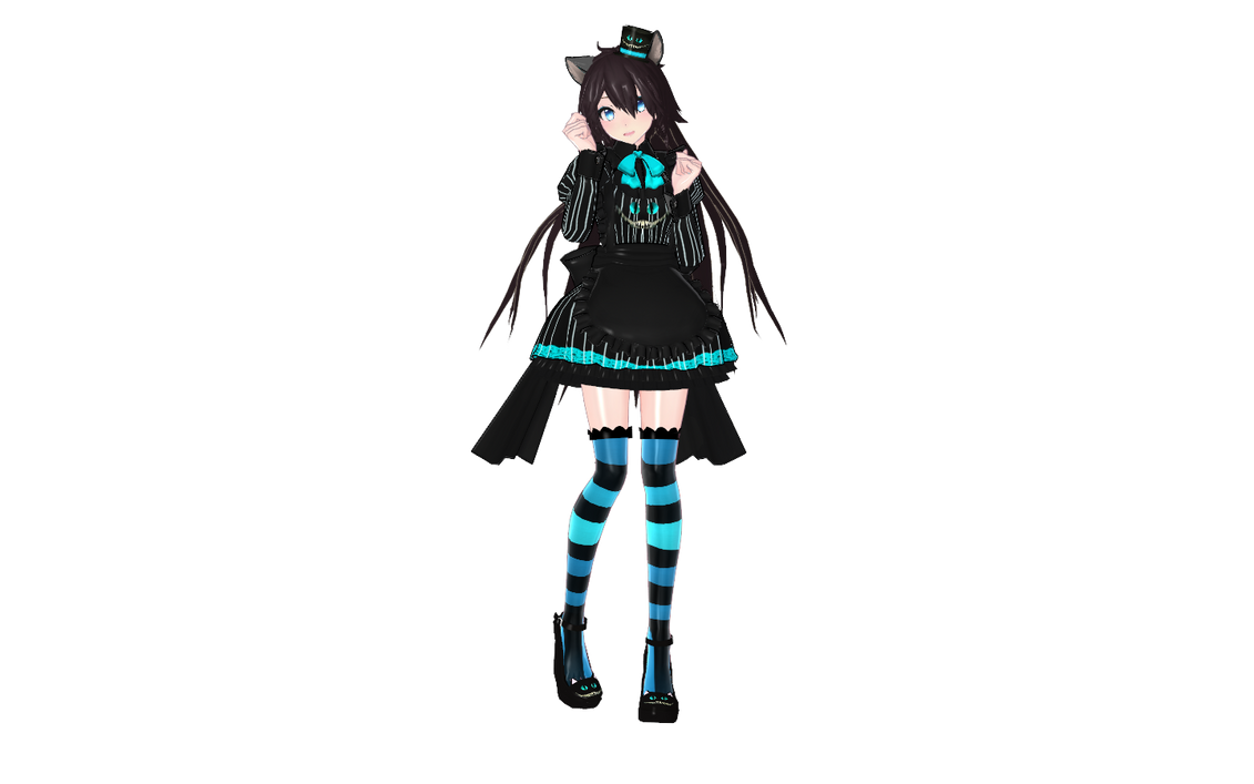 Model Mmd Miku Cat Girl