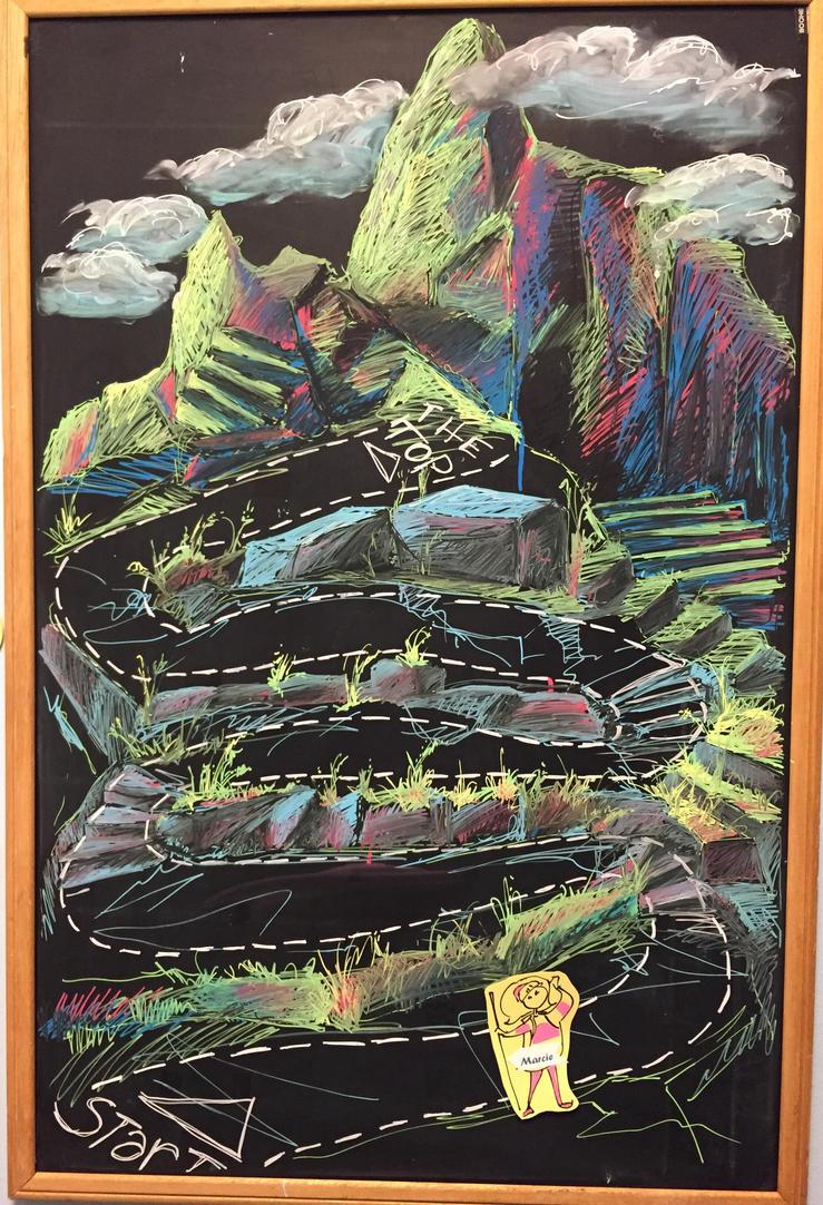 Climbing the Mountain by Wrenatus
