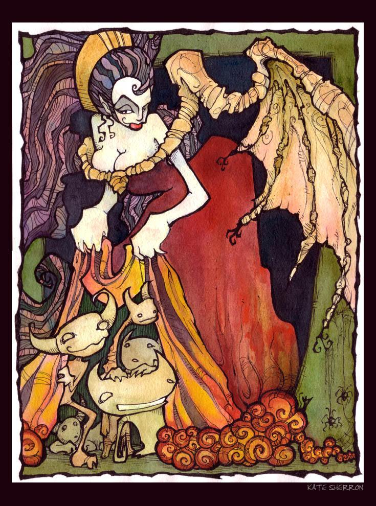 Bats in Her Belfry... by ZombieKate