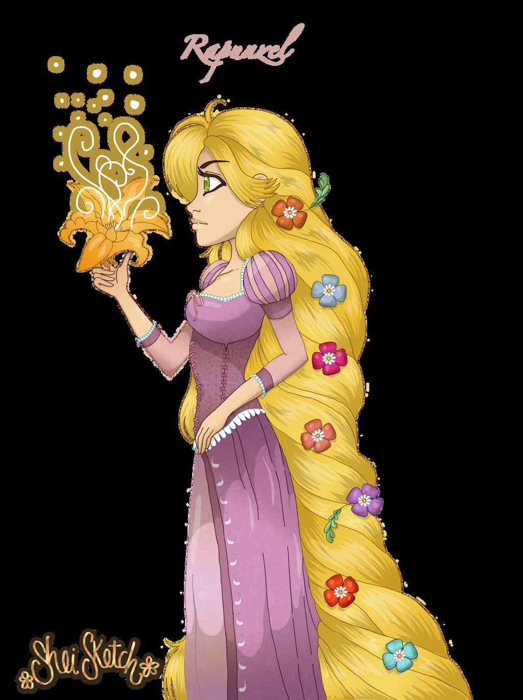 .:Rapunzel Fan Art:. by SheiSketch
