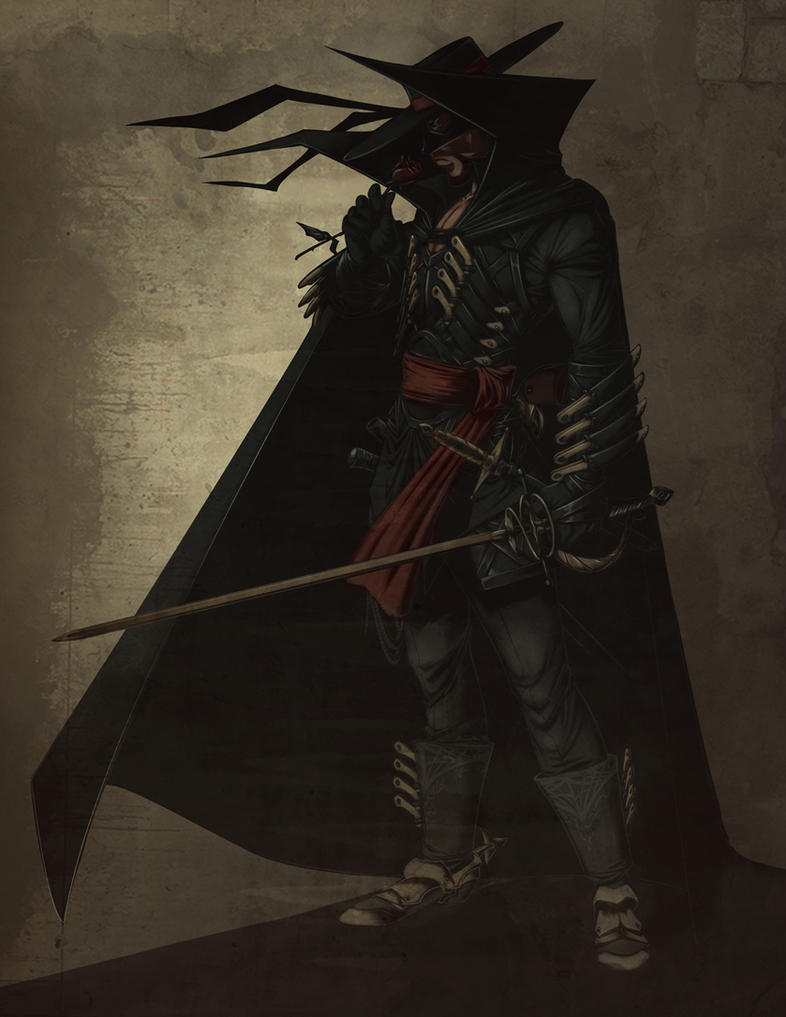 The Darker Zorro by Valhein