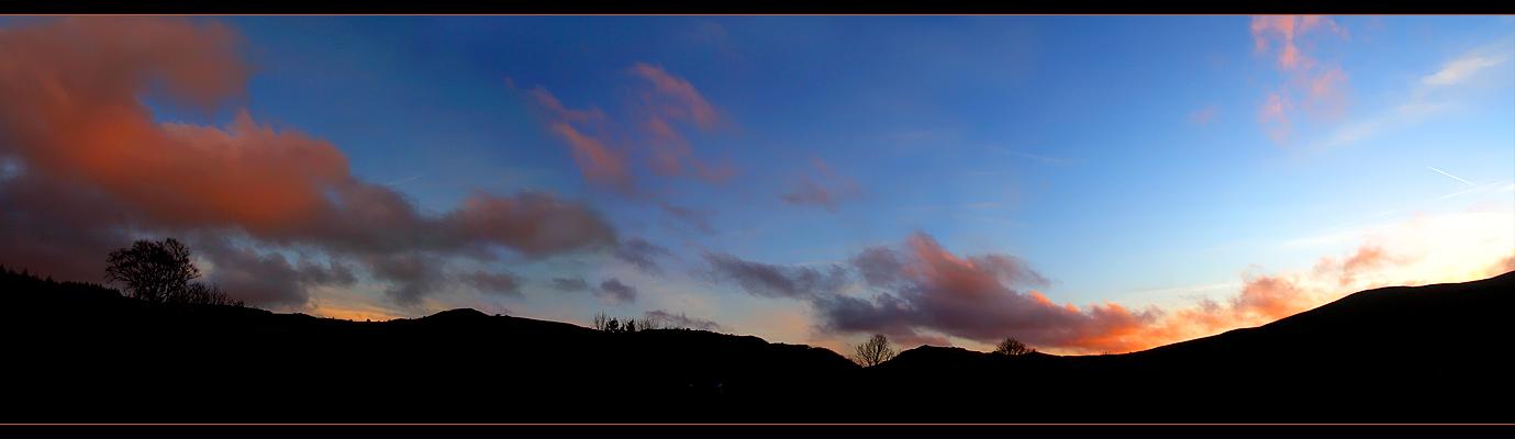 Sheep, Lockness, Sky by illyafresh