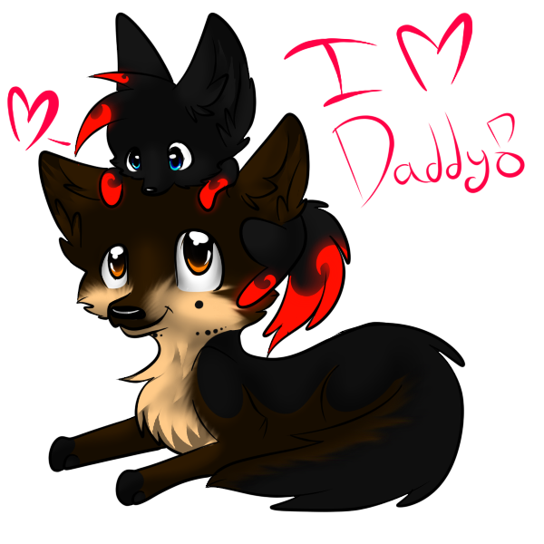 i love you daddy by Squishy-Squash-Squid
