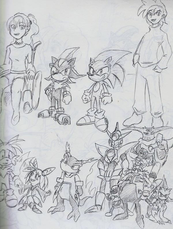 Sonic X season ... Lucas The Hedgehog