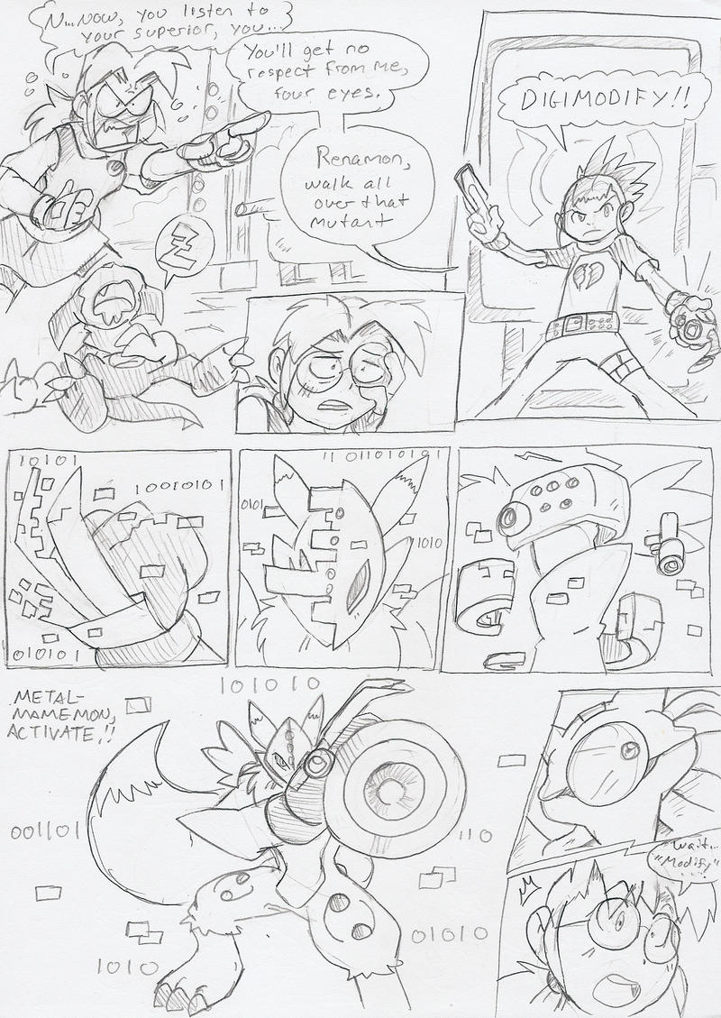 DZ: Taming of the Tamers Zone pg11 by BlueIke